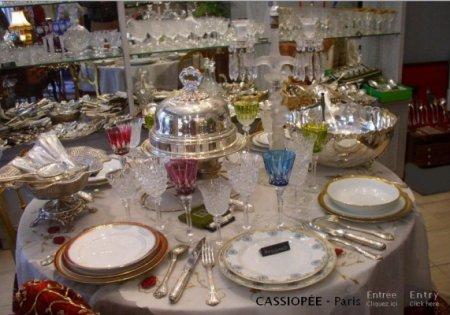 Annonces curiositel argenterie ancienne paris saint ouen - Arts de la table luxe ...