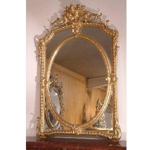 miroirs anciens antique mirrors chemin es anciennes antique mantels france paris ile de. Black Bedroom Furniture Sets. Home Design Ideas