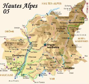 Hautes Alpes, 05, Provence Alpes Côte d'Azur, Paca, Cartes des départements de France, Carte de France,  itinéraire, shopping art, shopping antiquités, shopping art antiques, art shopping, antiques shopping, art antiques shopping in France, map, m
