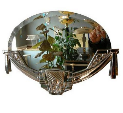 1n 08b miroir 480 440 mirror pinterest for Miroir art deco 1930