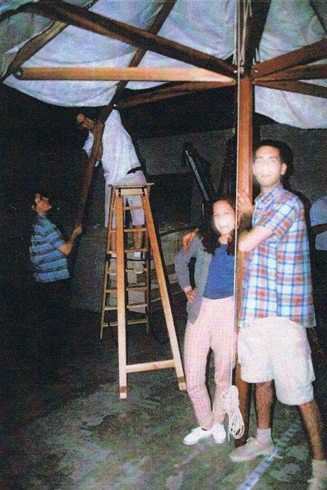 ecole boulle reconstitution d 39 une des tentes de l 39 etat major de napol on iii pour l. Black Bedroom Furniture Sets. Home Design Ideas