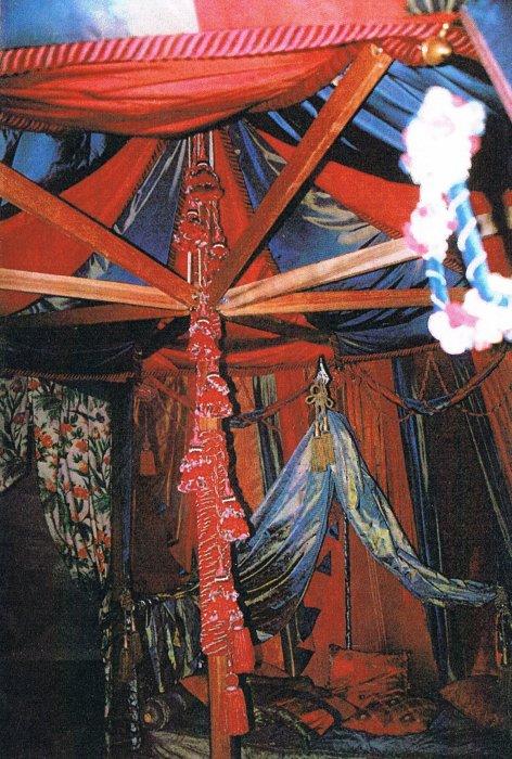 ecole boulle reconstitution d 39 une des tentes de l 39 etat. Black Bedroom Furniture Sets. Home Design Ideas