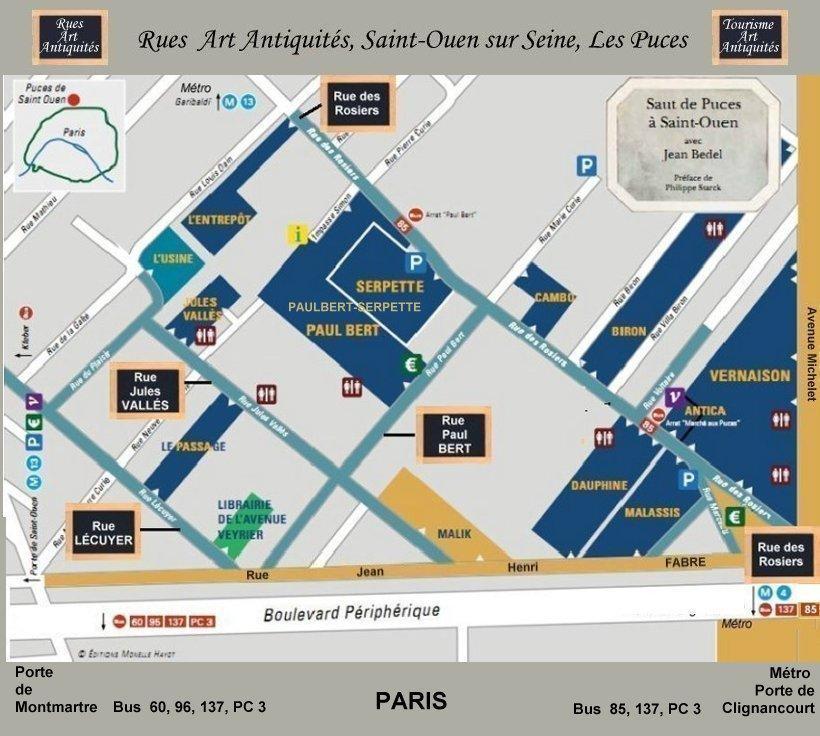 Rues marchandes saint ouen rue des rosiers rues - Restaurant africain porte de clignancourt ...